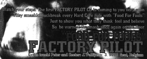 factory pilot advertisement Peter Puype